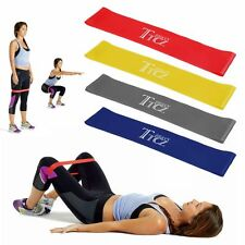 Resistance Band Loop Power Gym Sports Fitness Exercise Yoga WORKOUT US