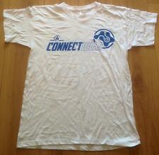 CONNECT BOAT PARTY PROMO T-SHIRT 2016 WHITE MEDIUM M IBIZA CLUB POSTERS TRANCE