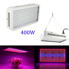 New 400W 400LEDs Plant Grow Light Panel Lamp Hydroponic Greenhouse Full Spectrum