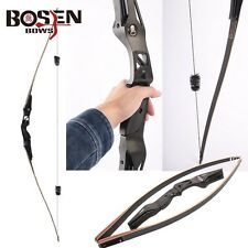 BOSEN BOWS Bamboo Limbs 20-60 lbs. Righthand Longbows Archery Target Hunting Bow