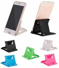 NEW Universal Desk Stand Mobile Phone Tablet Holder Adjustable Foldable Portable