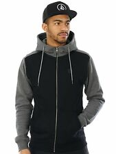 Volcom Black Single Stone Colourblock Zip Hoody