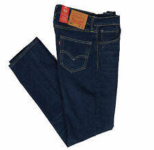 Mens Levis 511 2165 Slim Fit Stretch Jeans Blue Vintage Heart