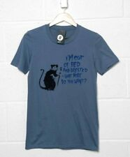 Banksy T Shirt - Out Of Bed Rat