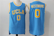 Russell Westbrook UCLA #0 Throwback Jersey Blue Sizes S - 2XL All Stitched