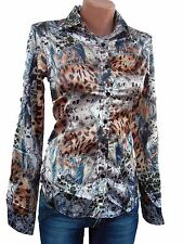 Roberto Cavalli woman's top blouse shirt size S, M, L,XL,XXL