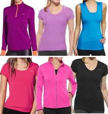 Reebok Womens Gym Wear - Ladies Sports Tops, Tees, Vests & Jackets - All Sizes