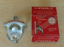 Coca Cola Starr-x Vintage wall mount bottle opener With Box