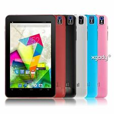 9'' Android 4.4 KitKat XGODY Tablet PC Quad Core Dual Camera 8GB Bluetooth WiFi