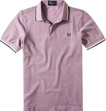 Fred Perry Men's Twin Tipped Polo Shirt  Short Sleeved Top Genuine M1200-871