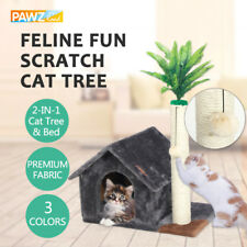 Cat Scratching Post Tree Gym Condo Tower Furniture House Kitten Funny Play Toys