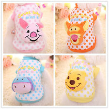 Cute Teacup Dog Clothes Pet Puppy Cat Hoodie chihuahua yorkie maltese Schnauzer