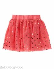 NWT GYMBOREE Woodland wonder heart TUTU TULLE SKIRT 6,8 Girls