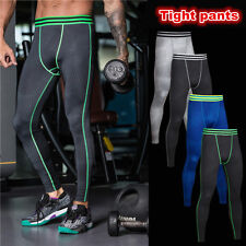 Mens Compression Under Base Layer tight Leggings Thermal underwear long Pants