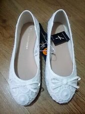 Ladies Ballerina Ballet Dolly Pumps Womens Flat Loafers Shoes Size BNWT Primark