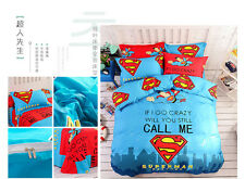 *** Superman Returns Single Bed Quilt Cover Set - Flat or Fitted Sheet ***