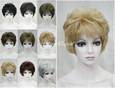 2017 fashion women 9 Colour Short Straight Women Ladies Natural Daily Hair wig