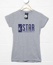Inspired By The Flash - Women's Star Laboratories T Shirt - 8Ball T Shirts