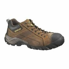 Caterpillar Argon P90087 Womens Dark Brown Leather Oxford Comp Toe Shoes
