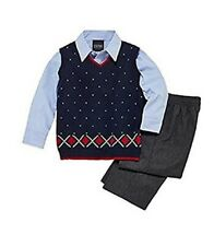 NWT Baby/Toddler Boys TFW 3-pc or 4-pc  Vested Suit Sets Dress Clothes