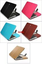 Full Protect Flip Magnet Leather Sleeve Case Cover Pouch Bag for Macbook