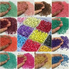 500Pcs 4mm Czech Glass Seed Spacer beads Jewelry Making DIY 28 Colors