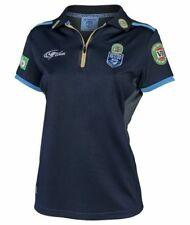 NSW Blues State of Origin 2017 Ladies NRL Team Polo BNWT Rugby League Clothing