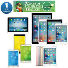 iPad Air 12 9 7in,mini,2,3,4 Pro iOS AT&T,T-Mobile,Sprint,Verizon Wi-Fi Warranty