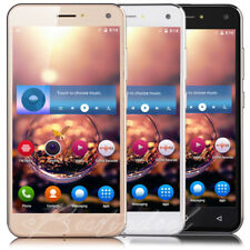 Luxury 5'' Android5.1 Dual SIM 4Core Smart Cell Phone 3G Net10 T-Mobile Unlocked