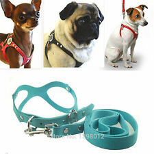XS Small Dog Harness Soft VEST Leash Set for Cat chihuahua teacup Dog yorkie