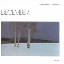 """GEORGE WINSTON: """"DECEMBER"""" by George Winston (CD Jan-1995, Windham Hill Records)"""