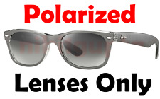 POLARIZED Grey Gradient Replacement Lens Ray Ban RB2132 New Wayfarer 55mm 52 58