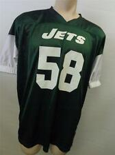 YOUTH NFL REEBOK NEW YORK JETS  #58 FOOTBALL jersey youth 4XL XXL very clean