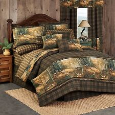 Whitetail Birch 8 pc Bed in Bag or Simple Comforter Set - Hot New Design