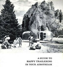 1964 Airstream Tradewinds Trailer Owners Manual 38 Pages