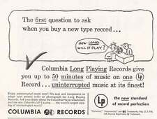 1949 Columbia Records: How Long Will It Play (20037)