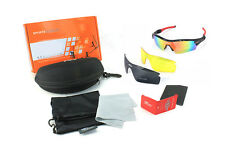 3 Replaceable Interchangeable Lens Glasses Cycling Cricket Sports Sunglasses