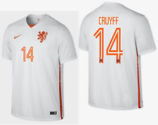 NIKE JOHAN CRUYFF NETHERLANDS AWAY JERSEY 2015/16 HOLLAND DUTCH.