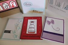 Stampin Up Handmade greeting cards  - You Choose!