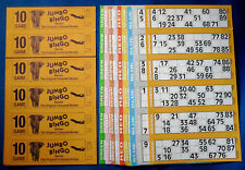 1500 10 Page (Games) Books Jumbo Bingo Tickets 6 To View Free Flyers or Markers