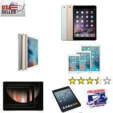 Apple iPad Air 12,mini 2,3,4,Pro Refurb iOS Wi-Fi+4G 16GB/32GB/64GB/128GB/256GB