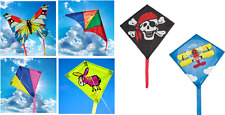 BROOKITE CHILDRENS EASY TO FLY MINI/MICRO FUN SINGLE LINE KITE 4 DESIGNS