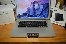 """Excellent Clean Apple MacBook Pro 15"""" Core i5 2.53GHz 4GB Ram 500GB SSD HDD"""