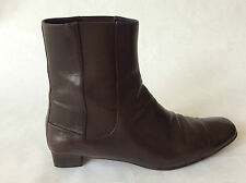 COLE HAAN Leather ARIANNA CHELSEA ANKLE BOOT Boots Brown US 9.5 M
