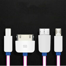 1Pcs Multifunction 4in1 USB IOS Cable Charger Android Small Size Convenience