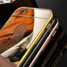 Durable Luxury Aluminum Ultra-thin Mirror Metal Case Cover for iPhone 6/6S