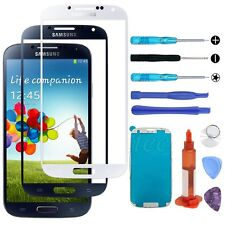 Outer Front Screen Glass Replacement Tools Kit UV Glue For Samsung Galaxy S4 ATT