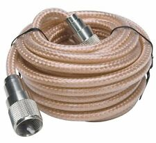 Pro Trucker 18' Clear CB Antenna Mini-8 Coax Cable with PL-259 Connector