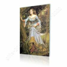 Alonline Art - CANVAS (Rolled) Ophelia Waterhouse Oil Painting Print Paintings