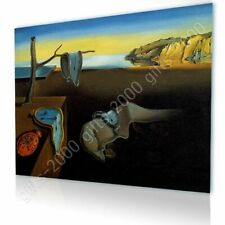 CANVAS (Rolled) The Persistence Of Memory Melting Clock Salvador Dali Oil Paint